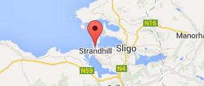 Find us in Strandhill Sligo Ireland